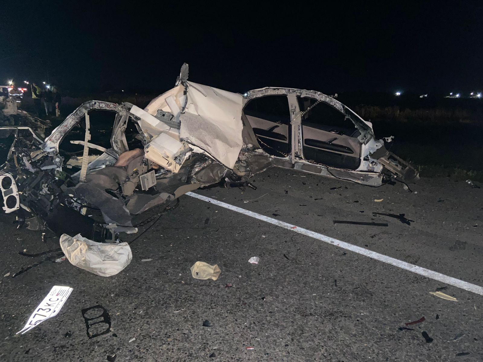 В Сочи четыре человека погибли в ДТП на встречке с грузовиком