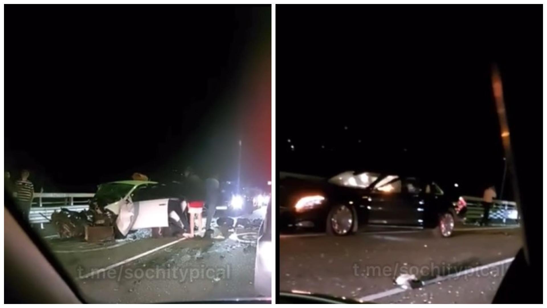 В Сочи водитель Mercedes-Maybach отправлен под домашний арест после смертельного ДТП